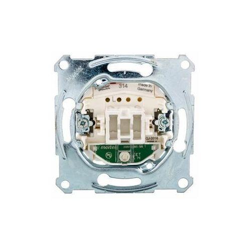 Schneider electric polska sp. z o.o. Merten łącznik pojedynczy 10a 250v ip20 z sygnalizacją zał. mtn3101-0000 (3606480306853)