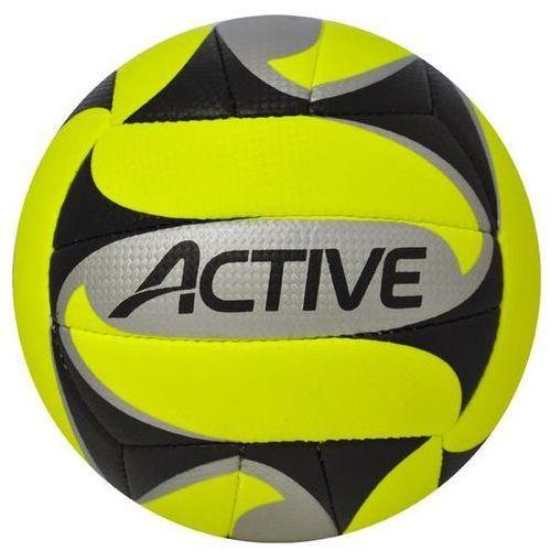 Piłka siatkowa AXER SPORT Active Żółty (rozmiar 5) (5901780920531)