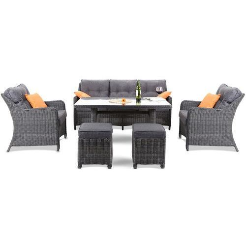 ZESTAW MEBLI CALIFORNIA GREY Home&Garden (631513)