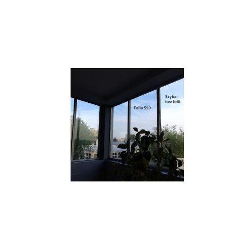 Folia okienna refleksyjna Silver 50 wewnętrzna szer. 1,52 m
