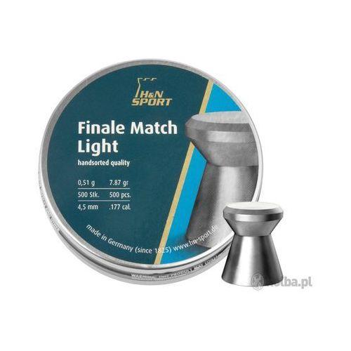 Śrut diabolo H&N Finale Match Light 4,50 mm 500 szt.