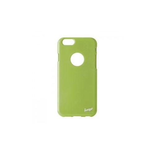 Brokatowa nakładka etui beeyo Spark do iPhone 5 / 5S zielona z kategorii Futerały i pokrowce do telefonów