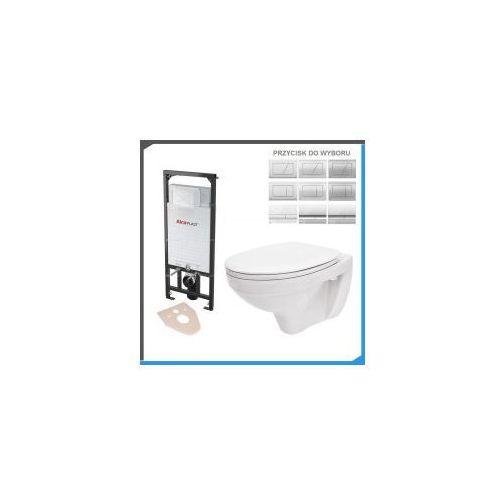Zestawy Kompletny zestaw podtynkowy do wc z misą wc cersanit delfi