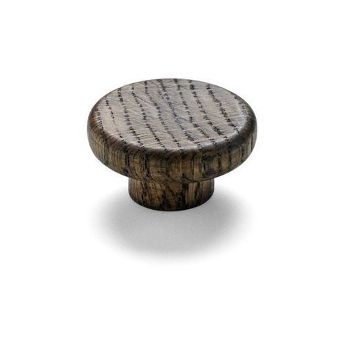 Menu - wieszak knobs - 2 szt - drewniany - ciemne drewno