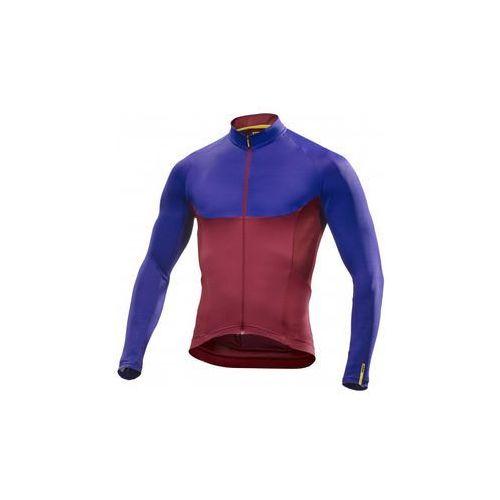 Mavic Męska koszulka ksyrium pro ls jersey tibetan red rozmiar m