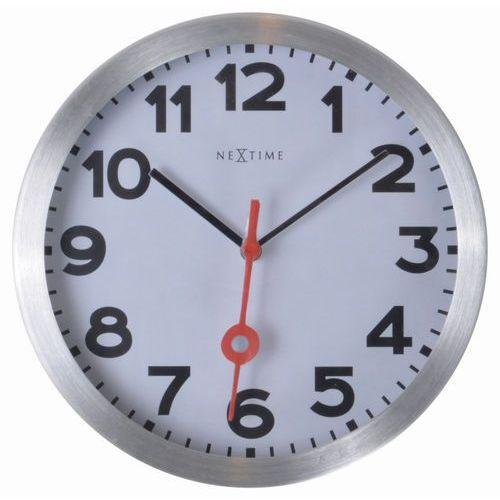 Nextime - zegar ścienny station 19 cm - cyfry