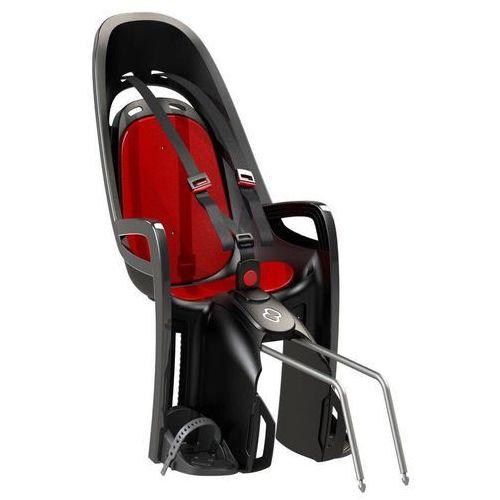 Hamax Fotelik rowerowy zenith szary, czerwona wyściółka (2010000505861)