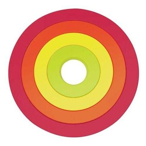 Zak!designs Zak! - podstawki pod naczynia, okrągłe, kolorowe (7640127686454)