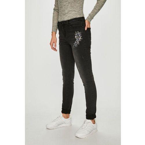 Morgan - jeansy gris moyen