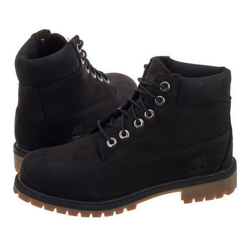 Trapery Timberland Youths 6 IN Premium WP Boot Black A11AV (TI48-a), A11AV