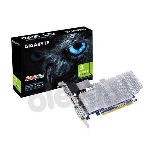 OKAZJA - Gigabyte GeForce CUDA GT610 2GB DDR3 64bit