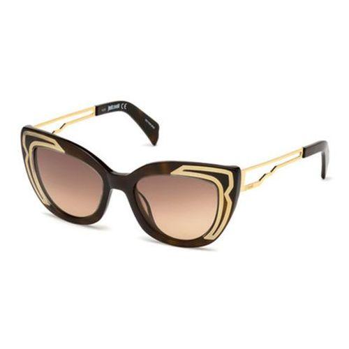 Okulary Słoneczne Just Cavalli JC 791S 52F, kolor żółty