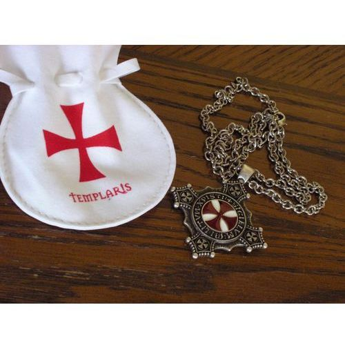 Kolekcjonerski wisior z krzyżem templariuszy (agcd/41.01) marki Włochy