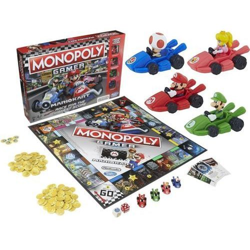 Gra monopoly gamer mario kart marki Hasbro