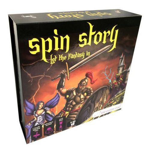 Gra edukacyjna The Purple Cow - Spin Story (7290016026115)