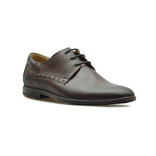 Pantofle Pan 945 Ciemny Brąz lico