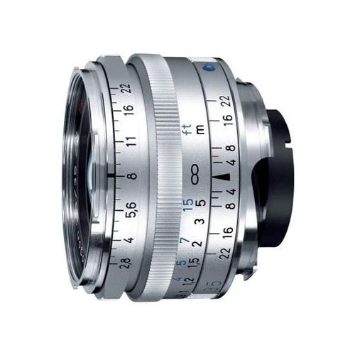 c biogon t* 35mm f/2.8 zm srebrny marki Carl zeiss