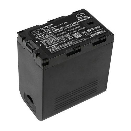 JVC GY-HM200 / SSL-JVC75 7800mAh 57.72Wh Li-Ion 7.4V (Cameron Sino), CS-JHM750MC