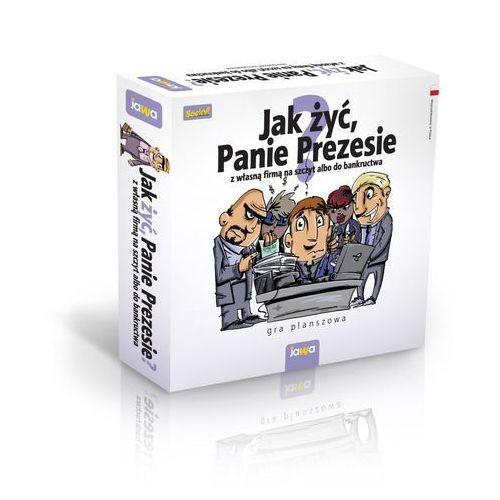 Jak żyć panie prezesie? gra planszowa marki Jawa