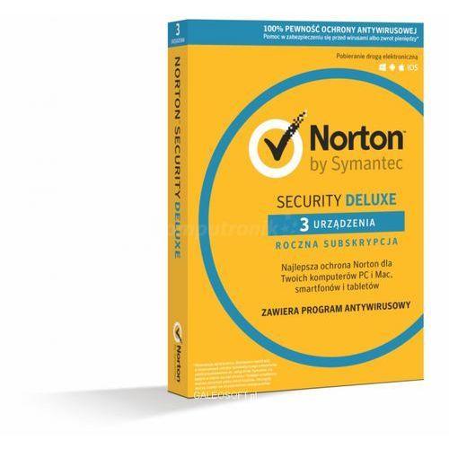 Symantec Norton security deluxe 3pc/1rok