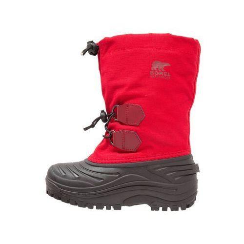 Sorel SUPER TROOPER Śniegowce bright red/red element