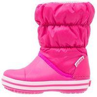 Crocs  winter puff kozaki dzieci różowy 30-31 kozaki sportowe (0887350804973)