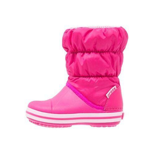 Crocs Winter Puff Kozaki Dzieci różowy 30-31 Kozaki sportowe, kolor różowy