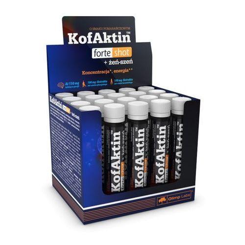 Silny Legalny Pobudzacz Olimp KofAktin Forte Shot 1 amp. 25 ml KOFEINA ŻEŃ-SZEŃ WITAMINY 062469