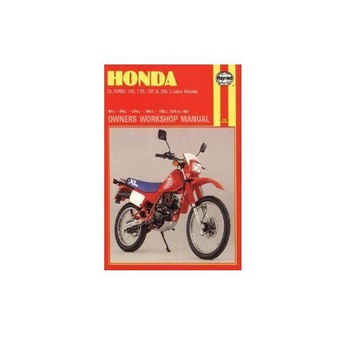 Honda XL/XR80, 100, 125, 185 and 200 2 Valve Models, 1978-87, Rogers, Chris