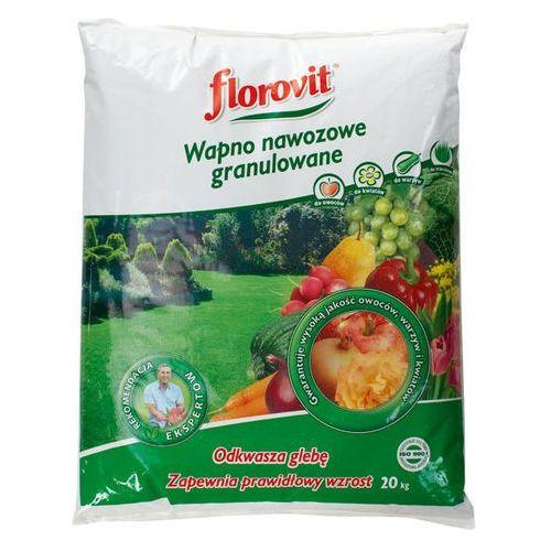 Wapno nawozowe Florovit 20 kg granulowane