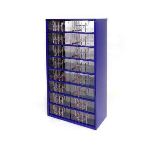 Mars Metalowe szafki z szufladami, 16 szuflad (8595004167528)