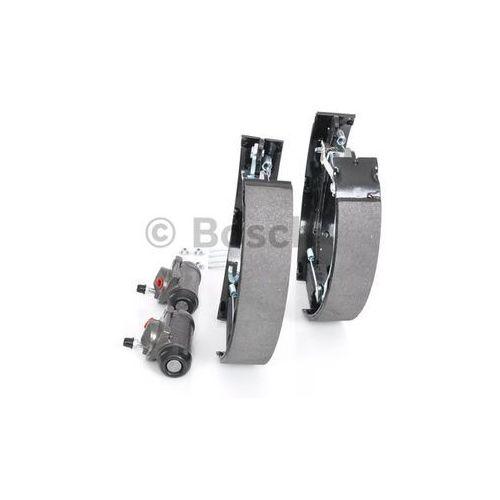 Bosch  kit superpro, zestaw szczek hamulcowych + cylinderek hamulca koła; zamontowany; z tyłu, 0 204 114 122 (4047024923317)
