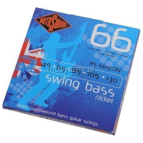 Rotosound RS-665LDN Swing Bass 66N 5 struny 45-130