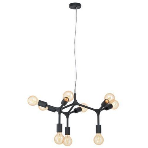 Eglo Bocadella 98346 lampa wisząca zwis oprawa 9x60W E27 czarna