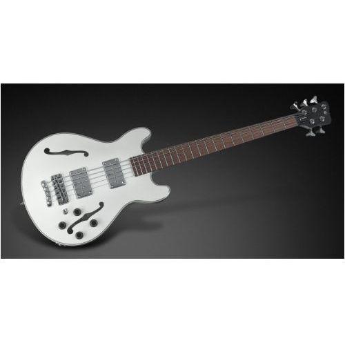 star bass 5-str. solid creme white high polish, fretted - long scale gitara basowa marki Rockbass