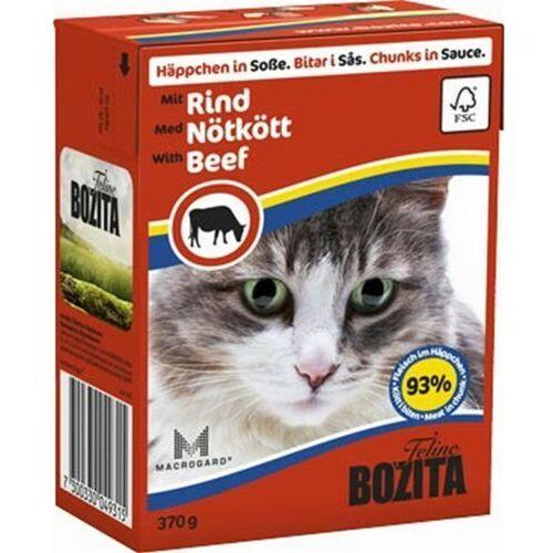 feline w sosie wołowina 370g marki Bozita