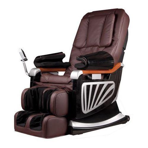 Fotel do masażu masseria - kolor ciemny brązowy marki Insportline