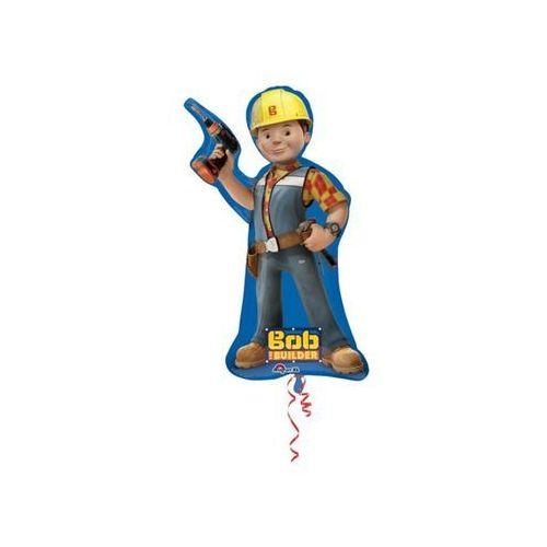 Balon foliowy bob budowniczy - 45 x 88 cm - 1 szt. marki Amscan