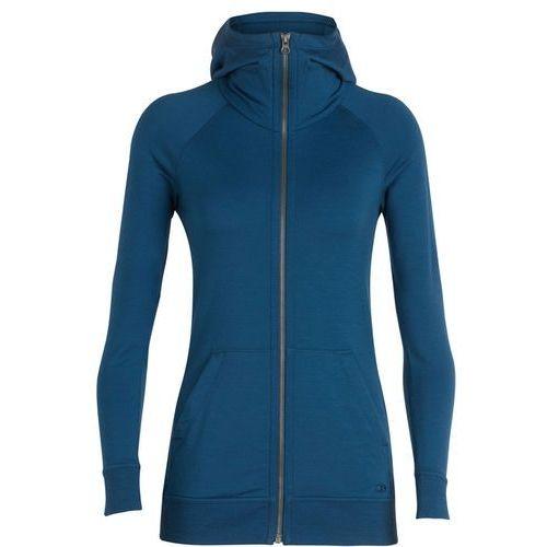 crush kurtka kobiety niebieski m 2018 kurtki wełniane marki Icebreaker