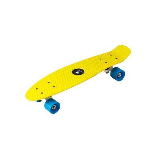 Deskorolka fiszka 22& 34 LA Sports 81009GE żółta