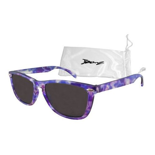 Okulary przeciwsłoneczne dzieci 4-10lat UV400 BANZ - Flyer Purple Tortoise (9330696015837)