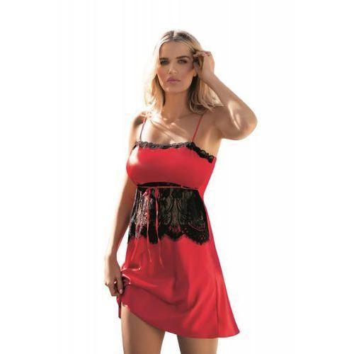 Dkaren claire czerwona koszula nocna