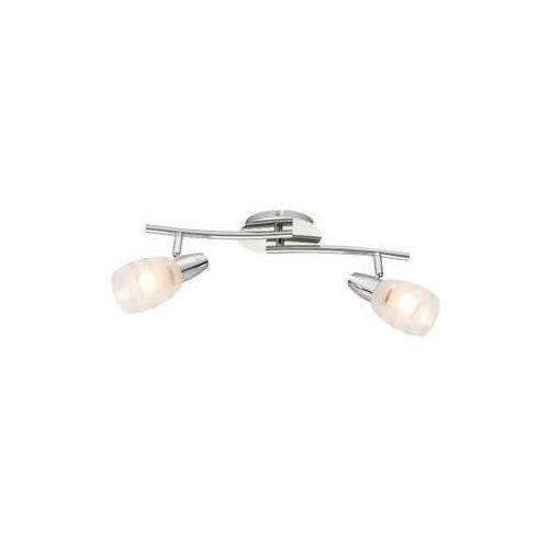 Globo Listwa lampa oprawa sufitowa roy 2x40w e14 chrom 54985-2