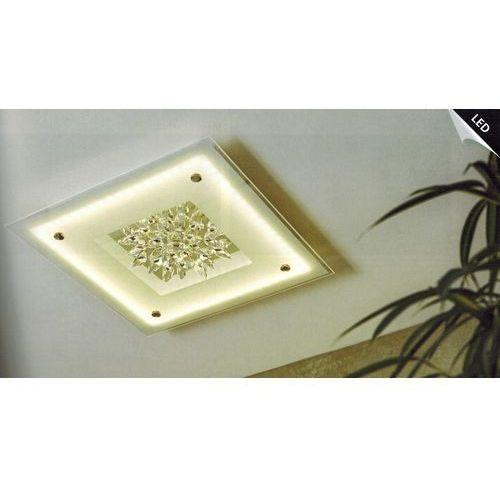 Eglo Plafon benalua 93573 lampa sufitowa 4x4,5w led biały / kryształ (9002759935733)