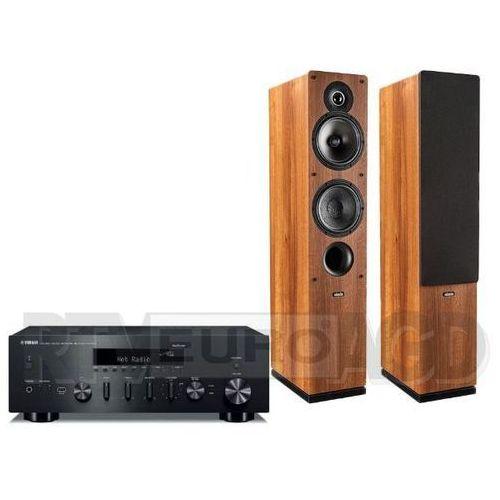 Yamaha musiccast r-n602 (czarny), indiana line tesi 561 (orzech)