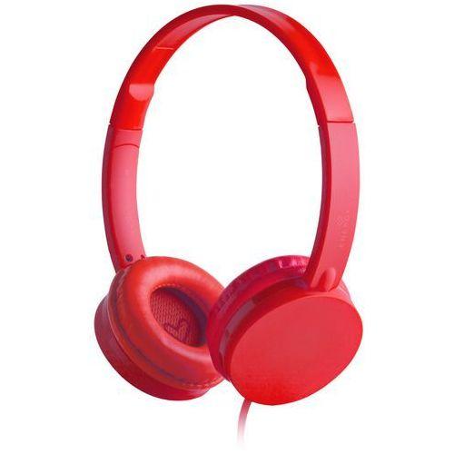 Energy Sistem słuchawki Colors, czerwony - BEZPŁATNY ODBIÓR: WROCŁAW!