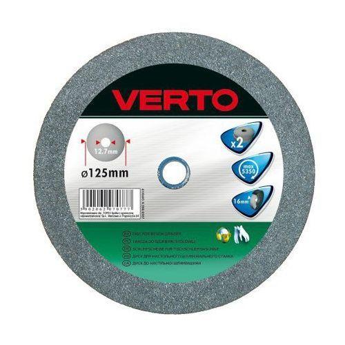 Tarcza do szlifowania VERTO 61H607 200 x 20 x 20 mm do metalu (2 sztuki) (5902062070791)