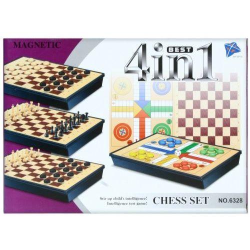 OKAZJA - Gra magnetyczne szachy 4w1 marki Mega creative