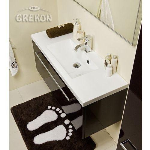 Szafka łazienkowa z umywalką 100/39 fokus wenge połysk marki Gante