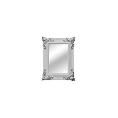 :: lustro ornament shiny white 78 x 58 cm - z ekspozycji marki Kare design